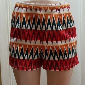 Beautiful multicolor shorts